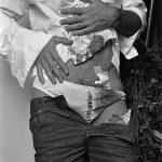 Autorretrato con el cuerpo herido 1981