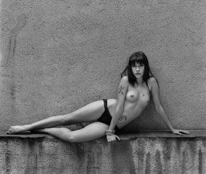 Elena Mar Odalisca en mi patio 1987